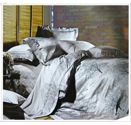 Постельное белье Famille TJ-10 с гипюром