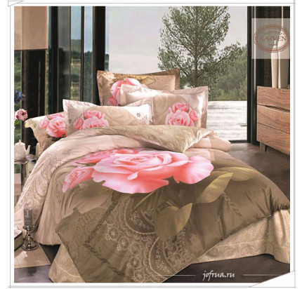Постельное белье Karven 390 Очарование роз
