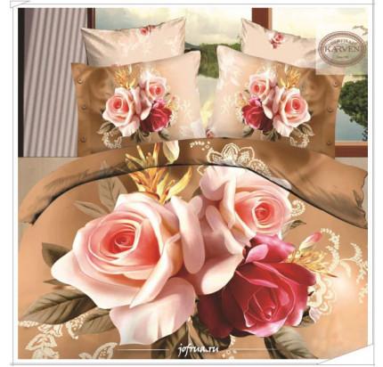 Постельное белье Karven 395 Бархатные Розы