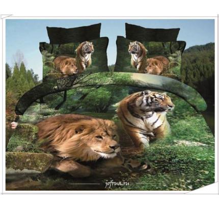 Постельное белье Karven 403 Тигр и Лев