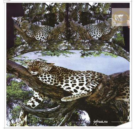 Постельное белье Karven 423 Леопард на ветке