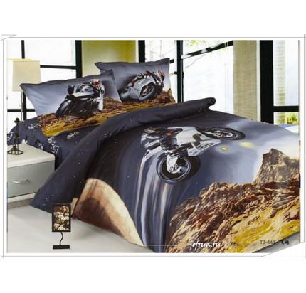 Детское постельное белье Мото приключение