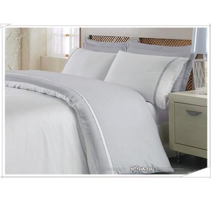 Постельное белье Ecocotton Basic (серое) 1.5-спальное