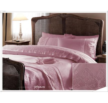 Свадебный набор Gelin Home Ezgi (розовый) евро