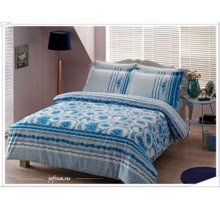 Постельное белье TAC Gjel (голубое)