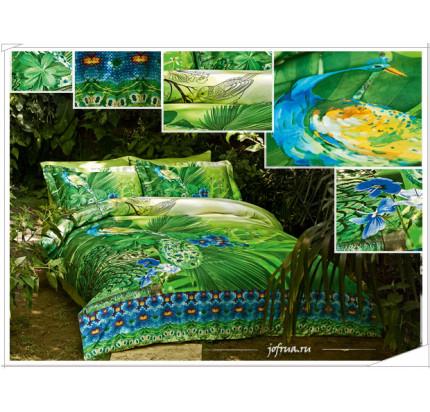 Постельное белье Tivolyo Home Venture Island евро