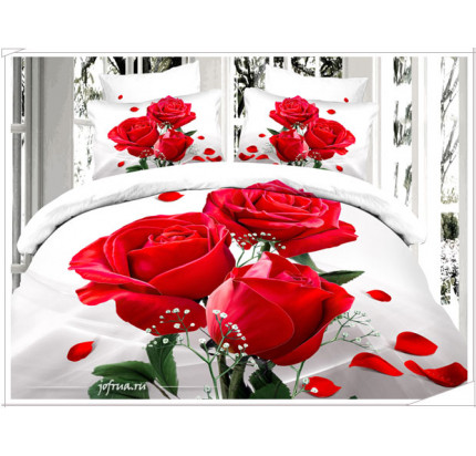 Постельное белье Kingsilk Seda PX-90 Алые Розы