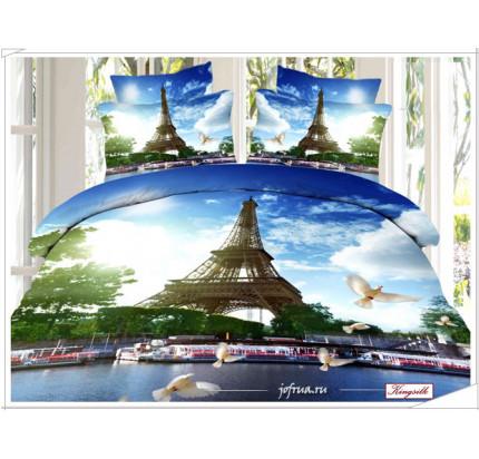 Постельное белье Kingsilk Seda PX-93 Париж. Эйфелева Башня