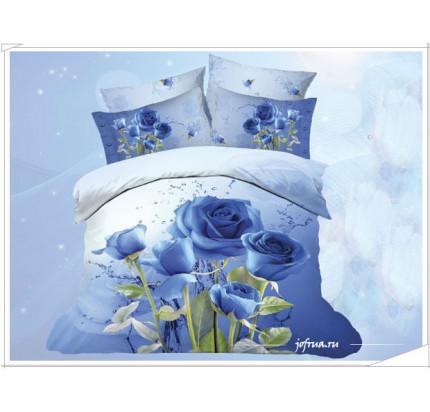 Постельное белье Karven 449 Синие Розы