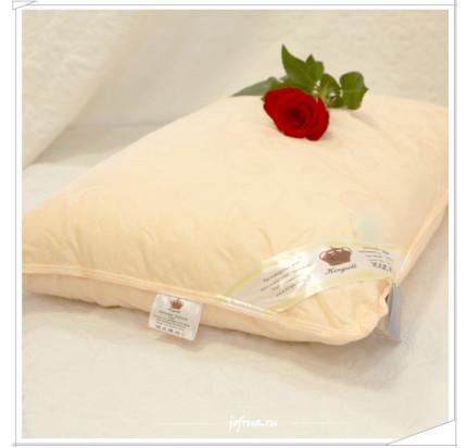 Подушка Kingsilk Elisabette Элит-Престиж персиковая (шелк 100%)