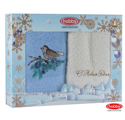 Набор новогодних полотенец Hobby Home A11 (50x90, 2 предмета)