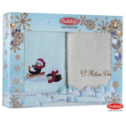 Набор новогодних полотенец Hobby Home A15 (50x90, 2 предмета)