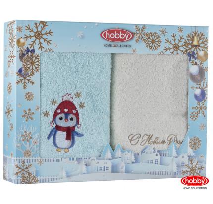 Набор новогодних полотенец Hobby Home A3 (50x90, 2 предмета)