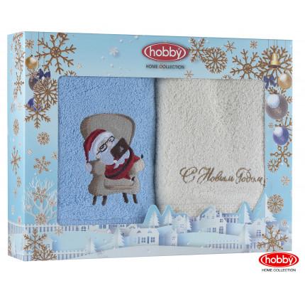 Набор новогодних полотенец Hobby Home A5 (50x90, 2 предмета)