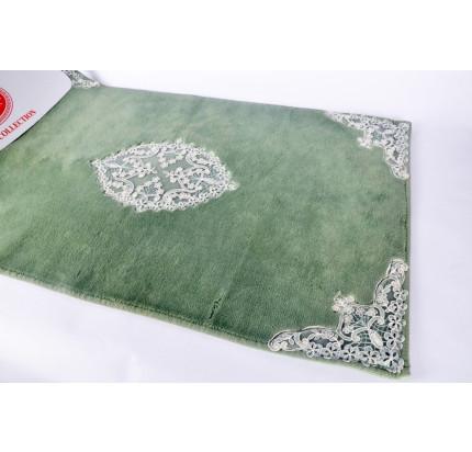 Набор ковриков Karven Tual темно-зеленый (50x60+60x100)