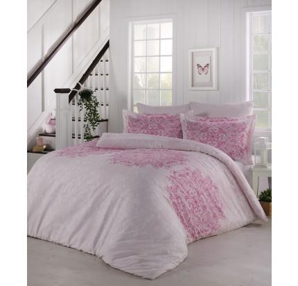 Постельное белье Altinbasak Halley (розовое) евро