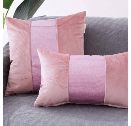 Декоративная наволочка Sofi de Marko Амели (розовая) 30x50