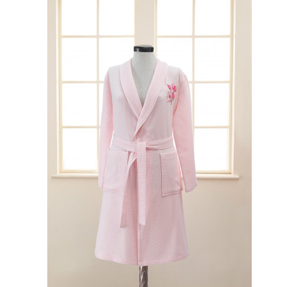 Халат женский Soft Cotton Anemone (розовый)