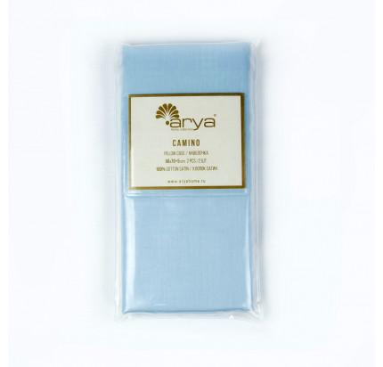 Наволочки Arya Camino (голубой) 2 предмета