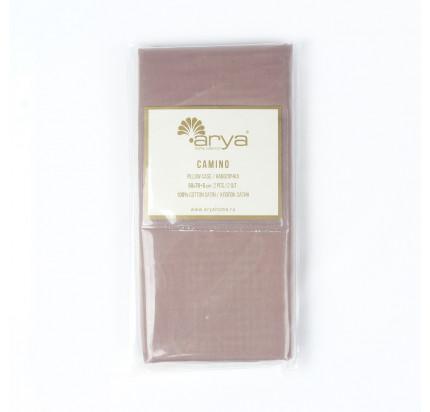 Наволочки Arya Camino (светло-коричневый) 2 предмета