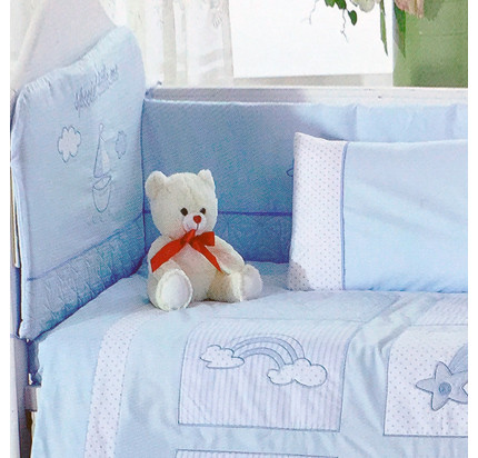Бортики в кроватку Arya Little Sailor (2 предмета)