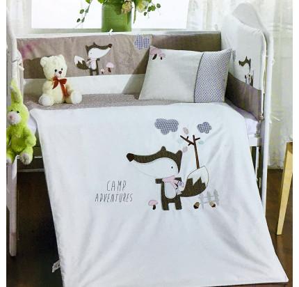 Детское белье в кроватку Arya Camp Adventures