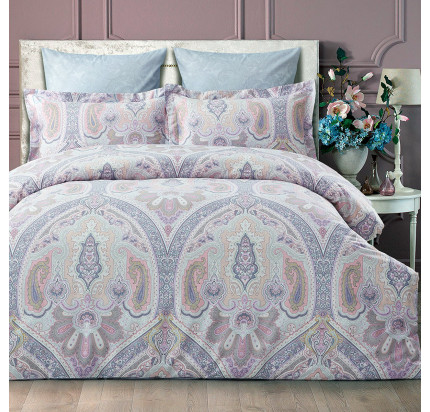 Постельное белье Arya Dakota (лиловое)