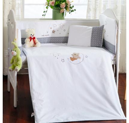 Детское белье в кроватку Arya Moon