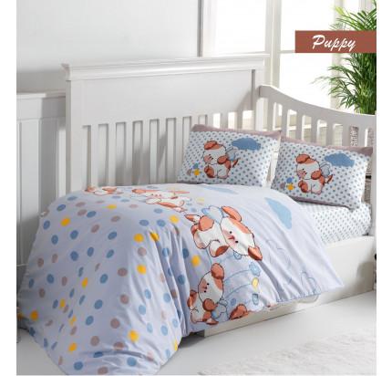 Детское белье в кроватку Arya Puppy