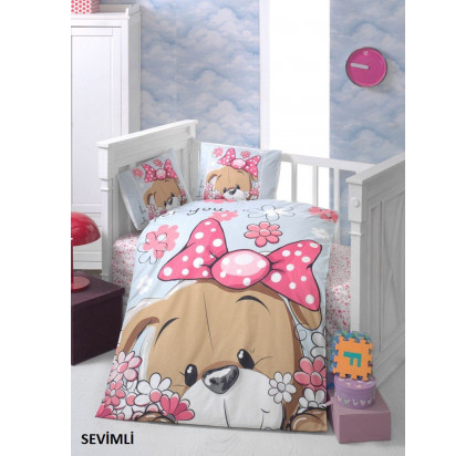 Детское белье в кроватку Arya Sevimli