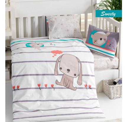 Детское белье в кроватку Arya Sweety