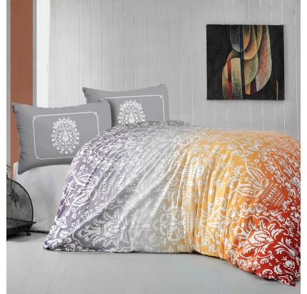 Постельное белье Arya Vizyon (оранжевое)