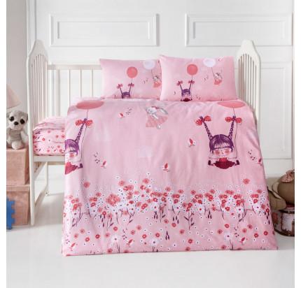 Детское белье в кроватку Arya Home Pinky Girl