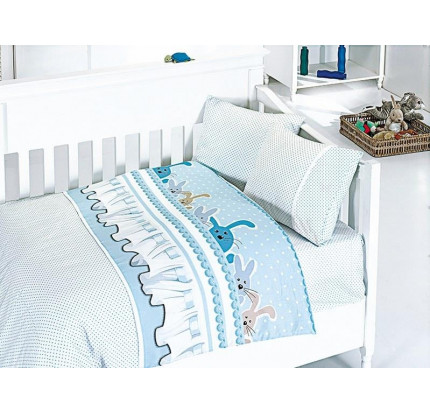 Детское постельное белье First Choice Ginny mavi