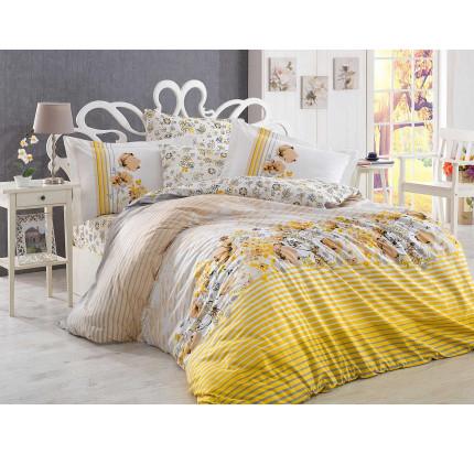 Постельное белье Hobby Home поплин Fiesta (желтый)