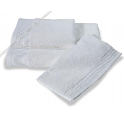 Полотенце Soft Сotton Bambu (белое)