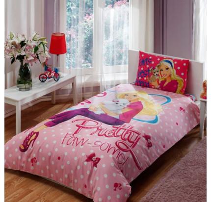 Детское постельное белье TAC Barbie Pretty