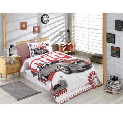 Hobby Home Drift (бордовый) детское постельное белье