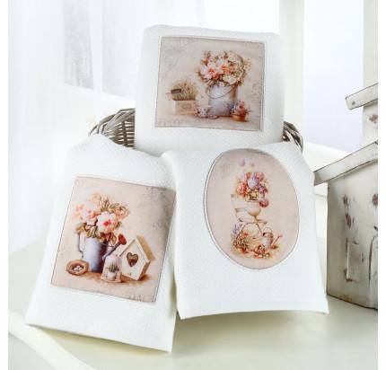 Салфетки для кухни Tivolyo Home Bellrose (3 предмета) 40x60