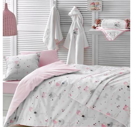 Постельное белье в кроватку Tivolyo Miss Balerina