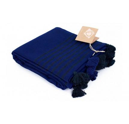 Полотенце Buldan's Capri (темно-синее) 90x160