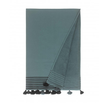 Полотенце Buldan's Capri (серо-зеленое) 90x160