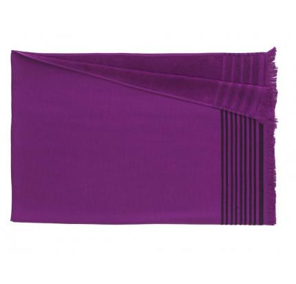 Полотенце Buldan's Ibiza (пурпурное) 90x160