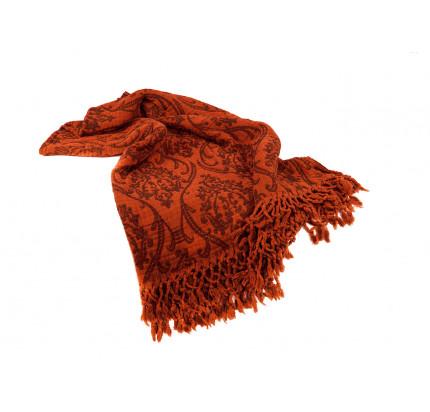 Плед Buldan's Risus (оранжевый) 130x170