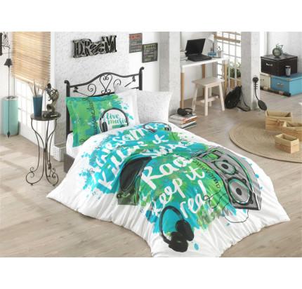 Hobby Home Live Music (зеленый) детское постельное белье