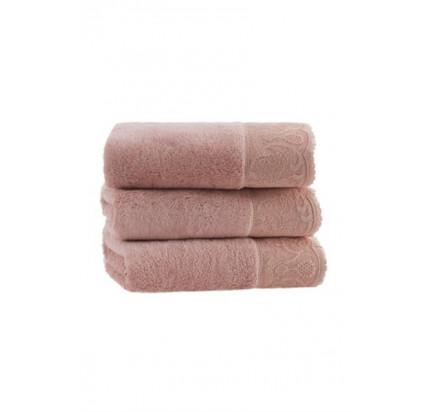 Набор полотенец Soft Cotton Hazel (грязно-розовый, 2 предмета)