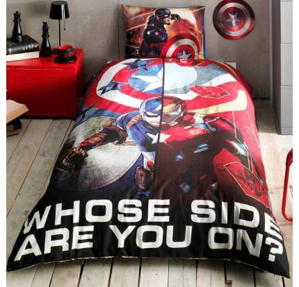 Детское постельное белье TAC Captain America Movie