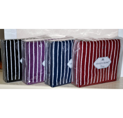 Набор полотенец Tivolyo Casablanca Line (фиолетовый) 2 предмета