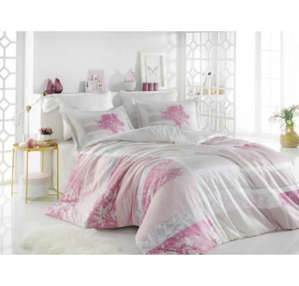 Постельное белье Hobby Home сатин Elsa (розовый)