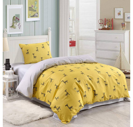 Sofi de Marko Жираф (желтый) детское постельное белье